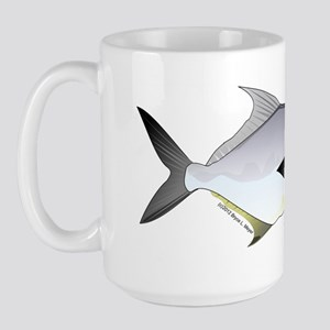Permit Jack fish Large Mug